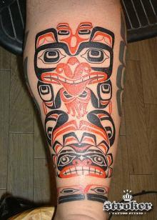 STROKER TATTOO | ハイダ族。。...