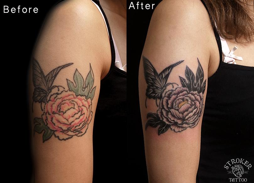 タトゥーのリメイク承ります