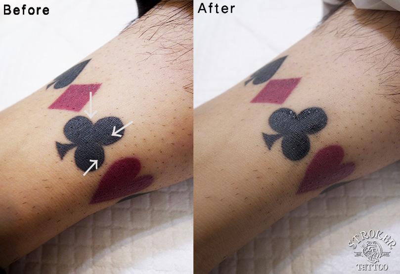 タトゥーのタッチアップ承ります