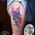 虹の女神イリスのwatercolor tattoo