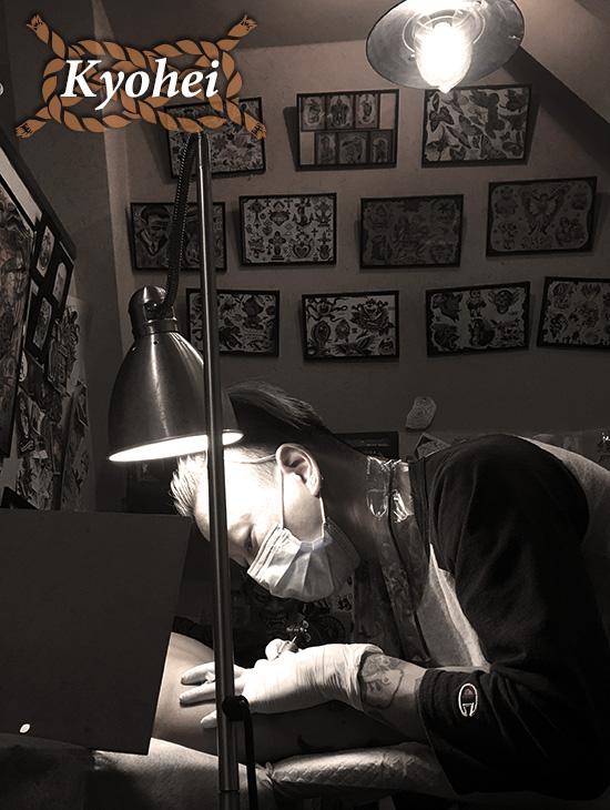 ストローカー彫師キョウヘイ