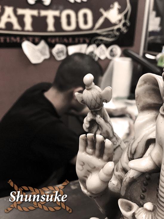 ストローカー彫師