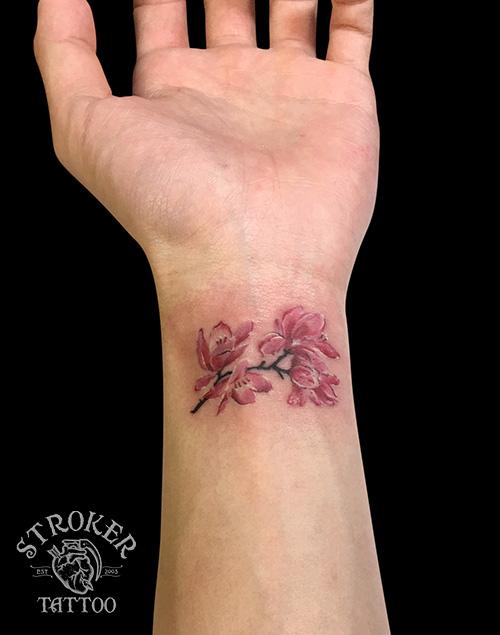 桜のタトゥー