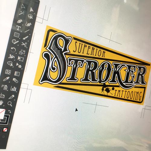 タトゥースタジオ_ステッカー