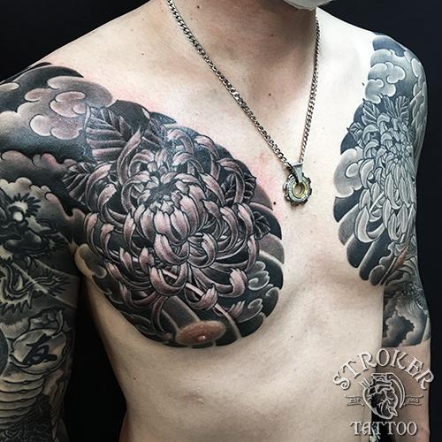 タイコ、カイナ、和彫り刺青関西彫