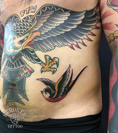 スワローツバメのタトゥー