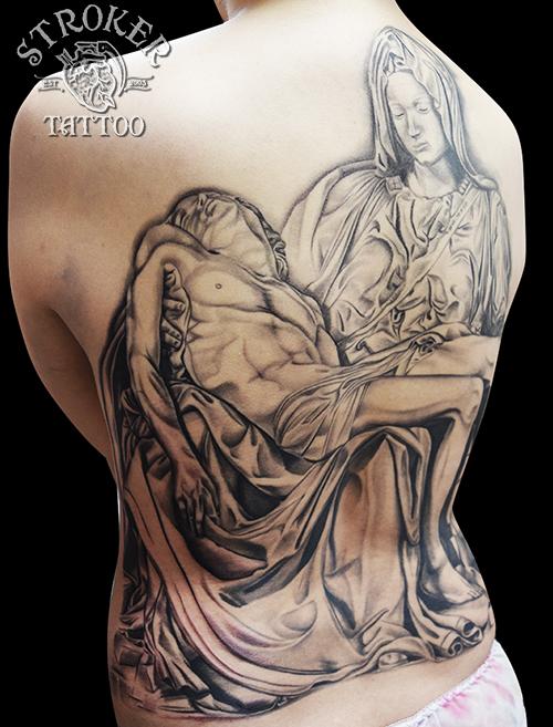 ピエタ 銅像 タトゥー