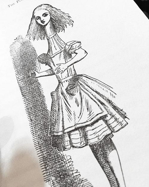 アリス挿絵