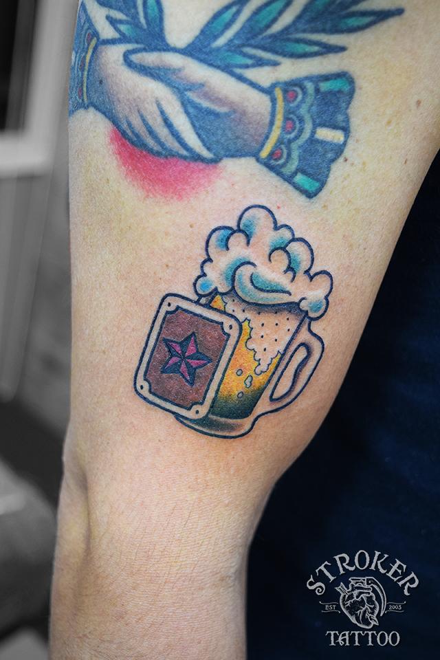 ビール トラッド タトゥー