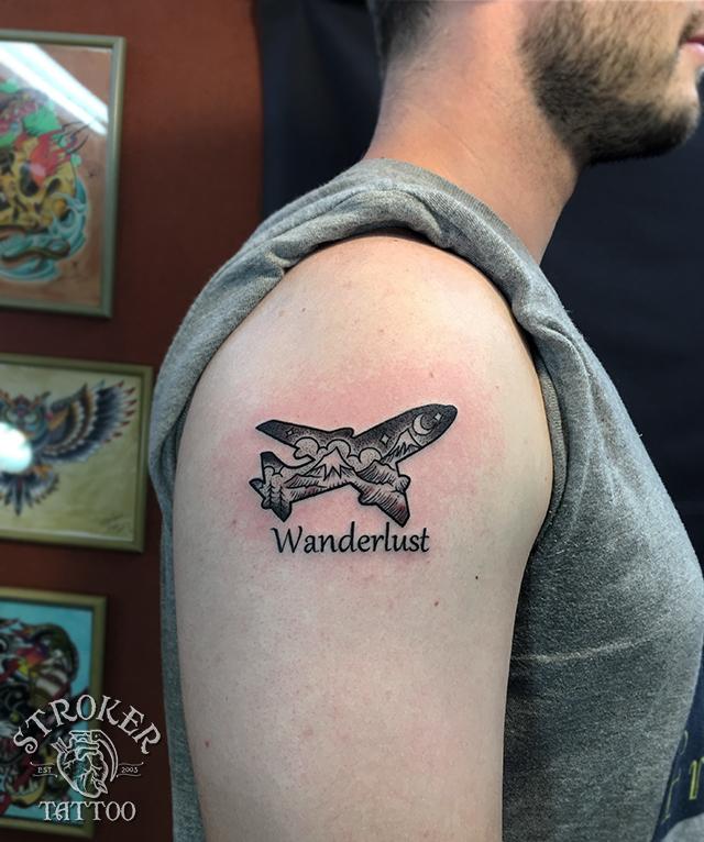 wanderlust, 旅のタトゥー