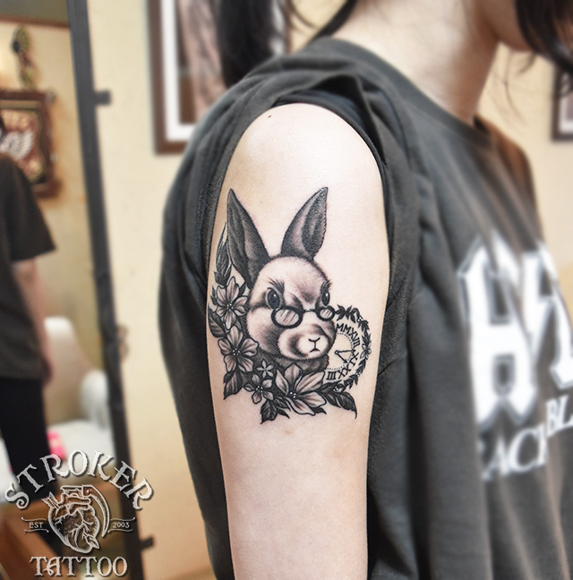 兎tattoo