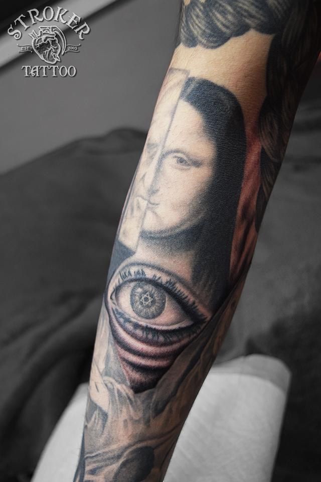 モナリザ ダヴィンチ tattoo