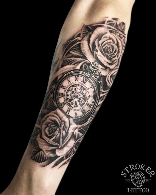 薔薇と懐中時計