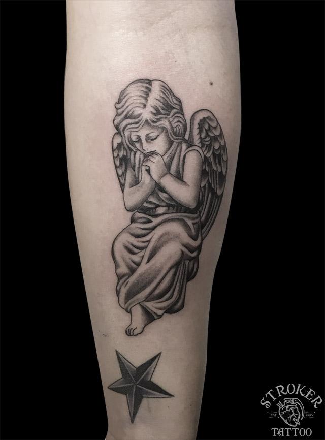 天使のペアタトゥー