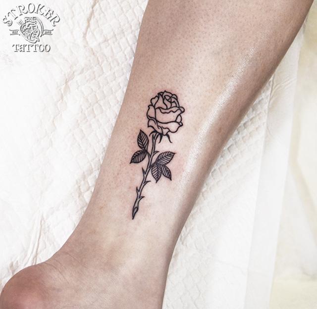 薔薇タトゥー