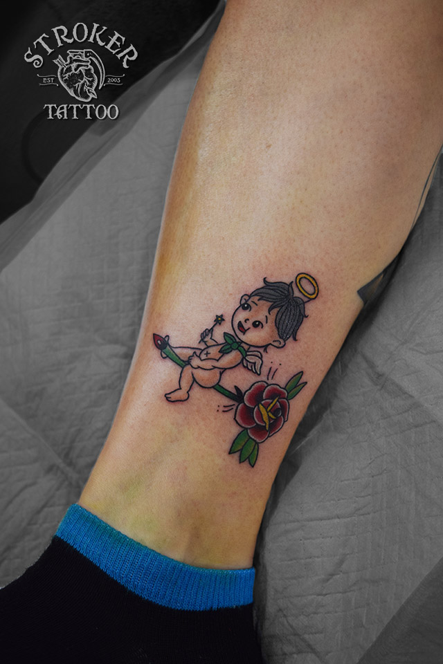 天使 男の子 tattoo