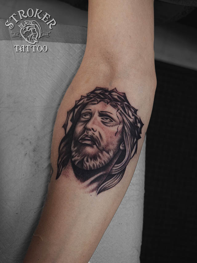 キリスト リアル tattoo
