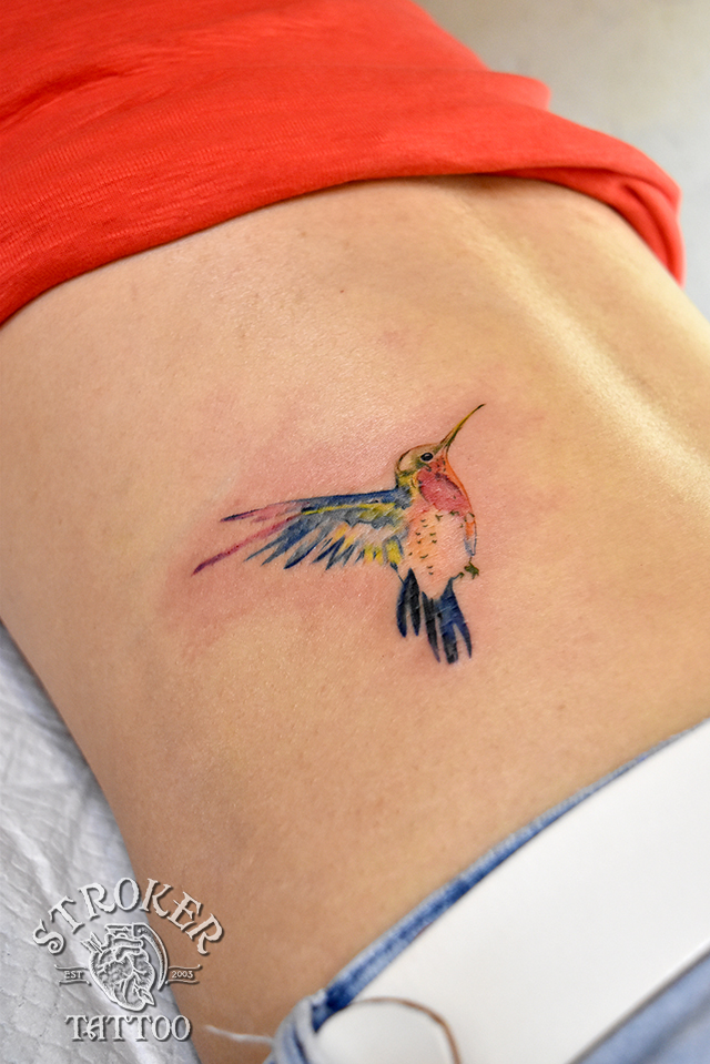 鳥 タトゥー