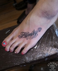 MESSAGE chi instep.letter.tattoo