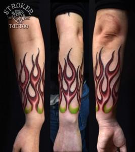 kyo1609-flames-forearm