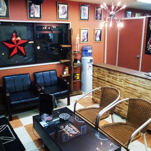 スタジオ内スペース