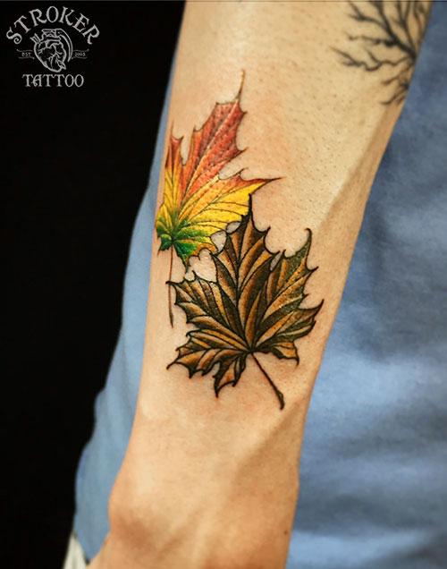 楓のタトゥー