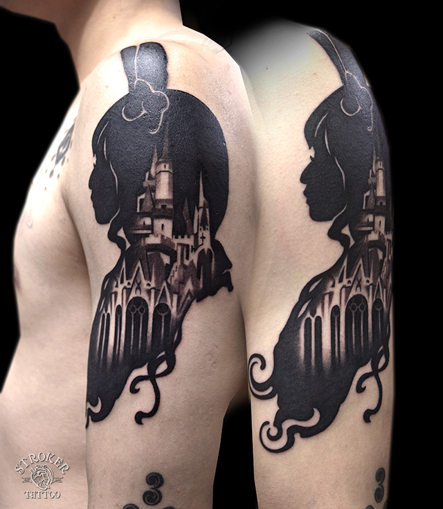 black tattoo castle
