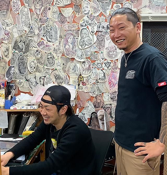 ストローカータトゥー横浜彫師