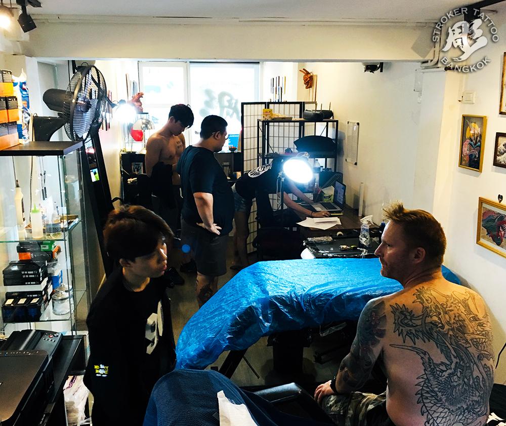 バンコクタトゥースタジオ日本人経営