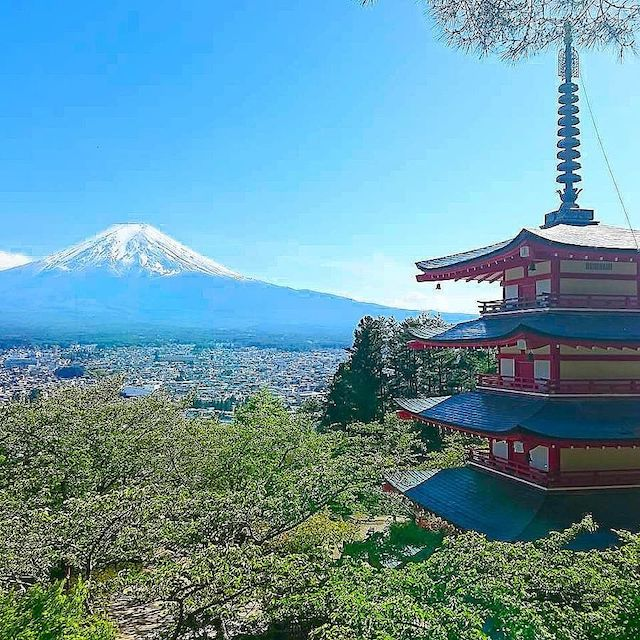 富士山 山梨