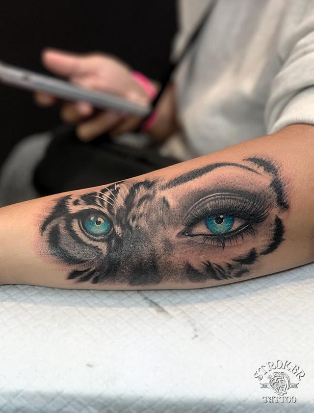 虎の目タトゥー