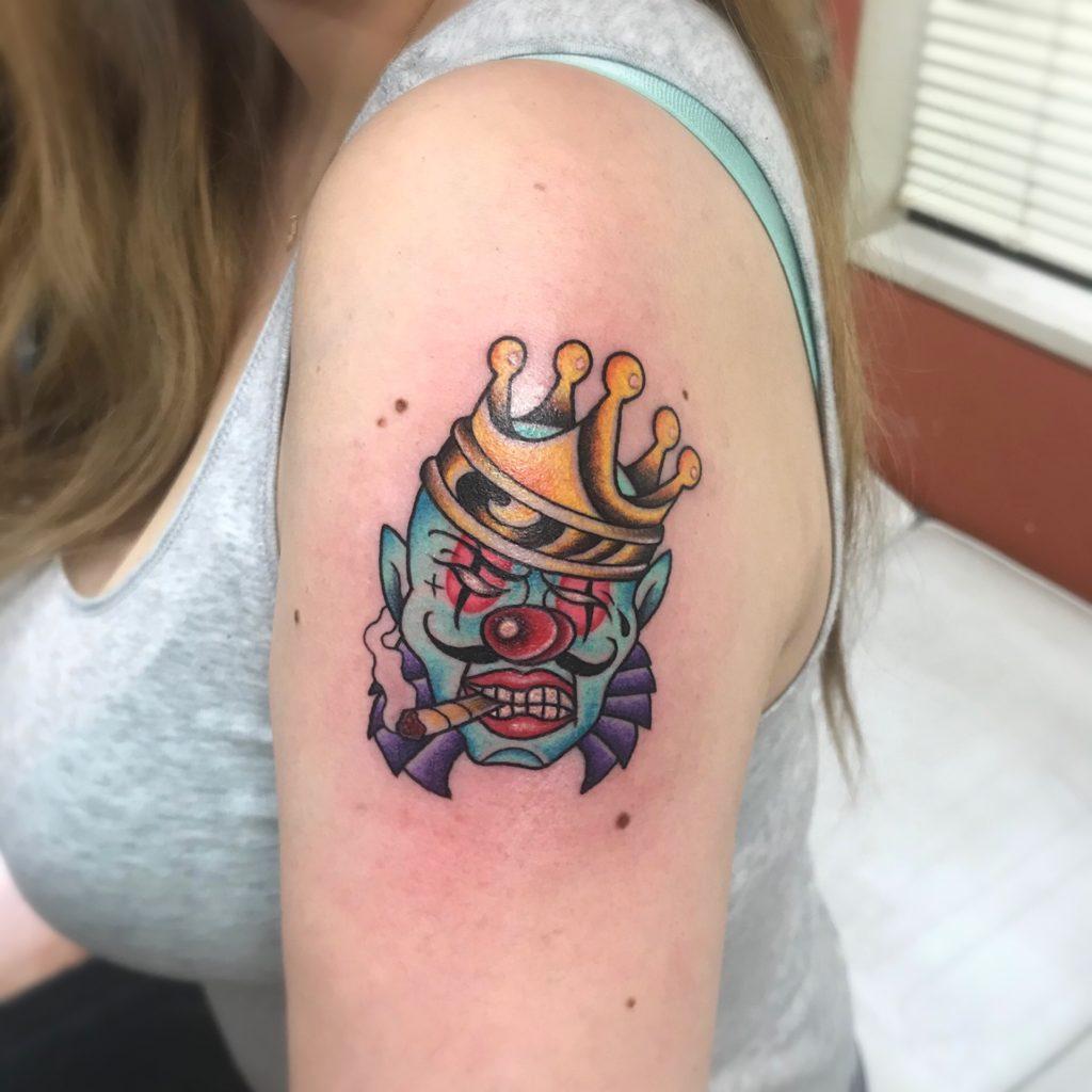 ピエロ tattoo