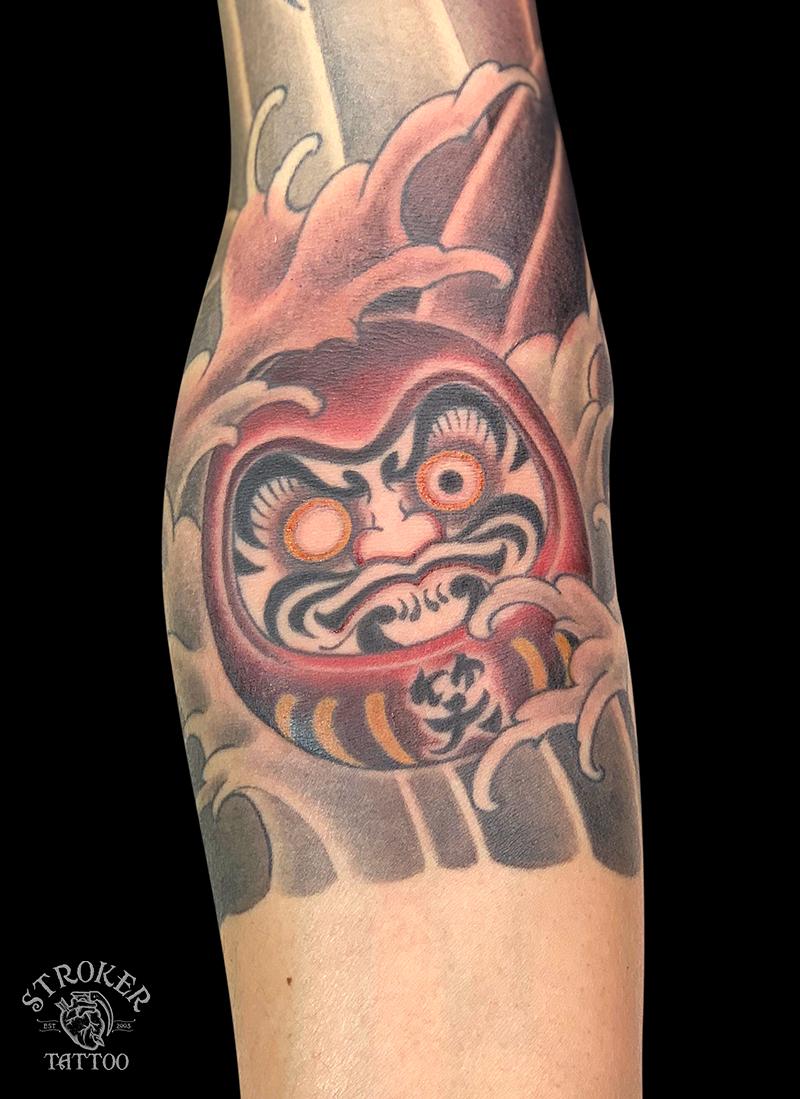 だるまのタトゥー