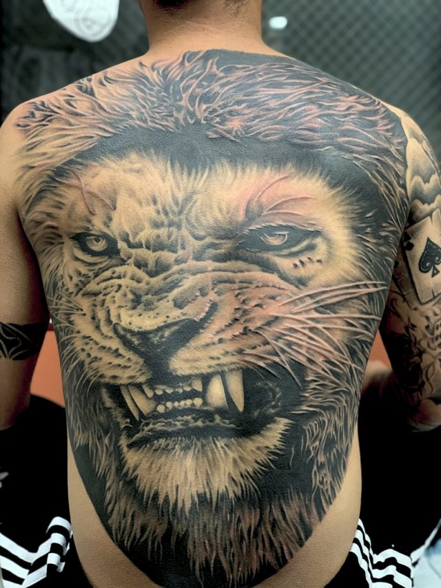 横浜 tattoo