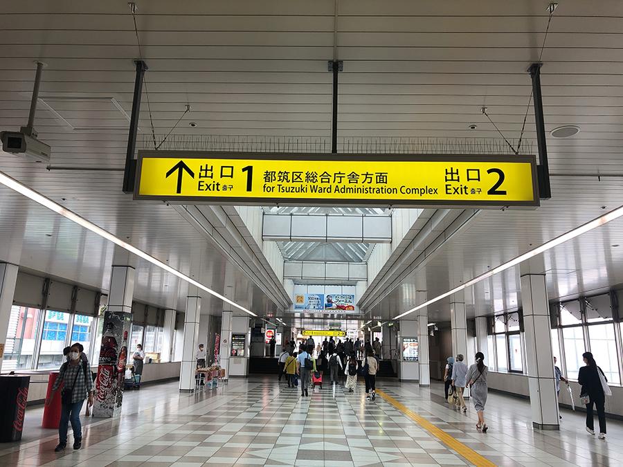 アクセス-出口1