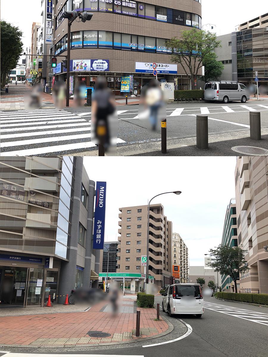 アクセス-横断歩道