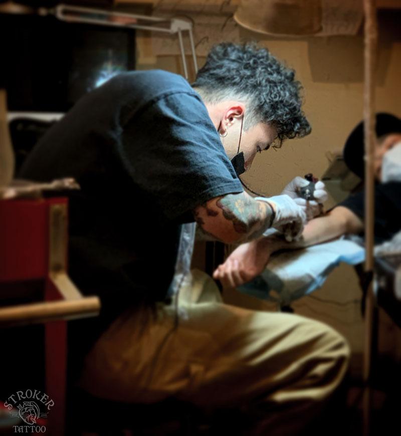 町田タトゥー彫師