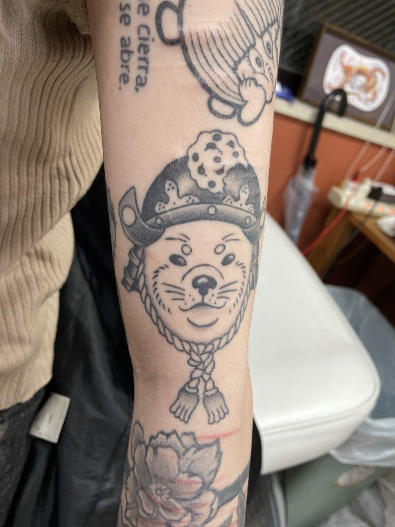 犬 タトゥー