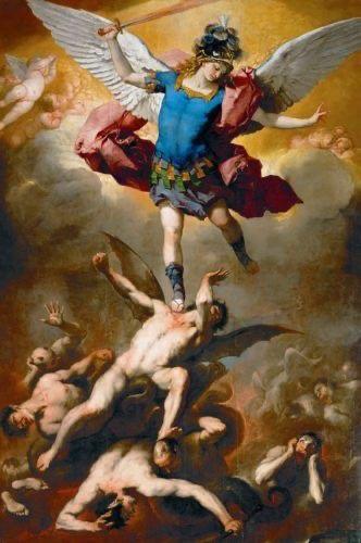 大天使ミカエルと叛逆天使たち